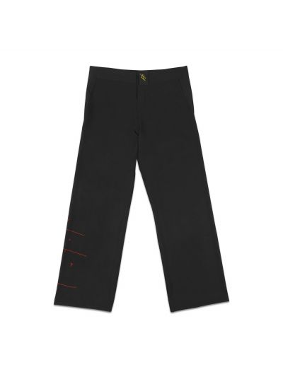 Aloha J Black Pant with Red Logo - PREORDER